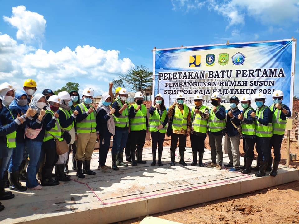 Stisipol Raja Haji Lagi Bangun Asrama Mahasiswa Tiga Lantai